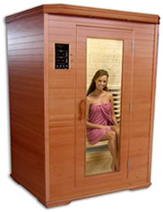 Infrared saunas are the new hot thing