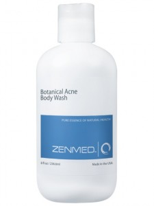 botanical acne body wash