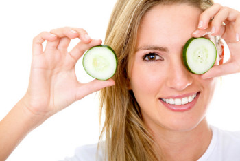 Treating Problem Skin with Cucumber Extract