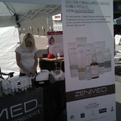 ZENMED Festival Booth