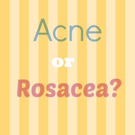 Acne or Rosacea? A case of skincare confusion