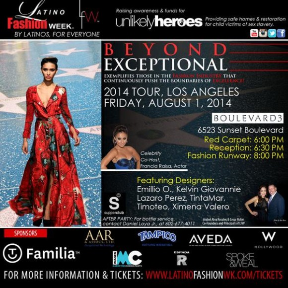 ZENMED products to be featured at Latino Fashion Week