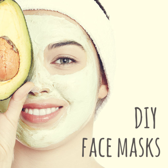 DIY face masks for beautiful skin